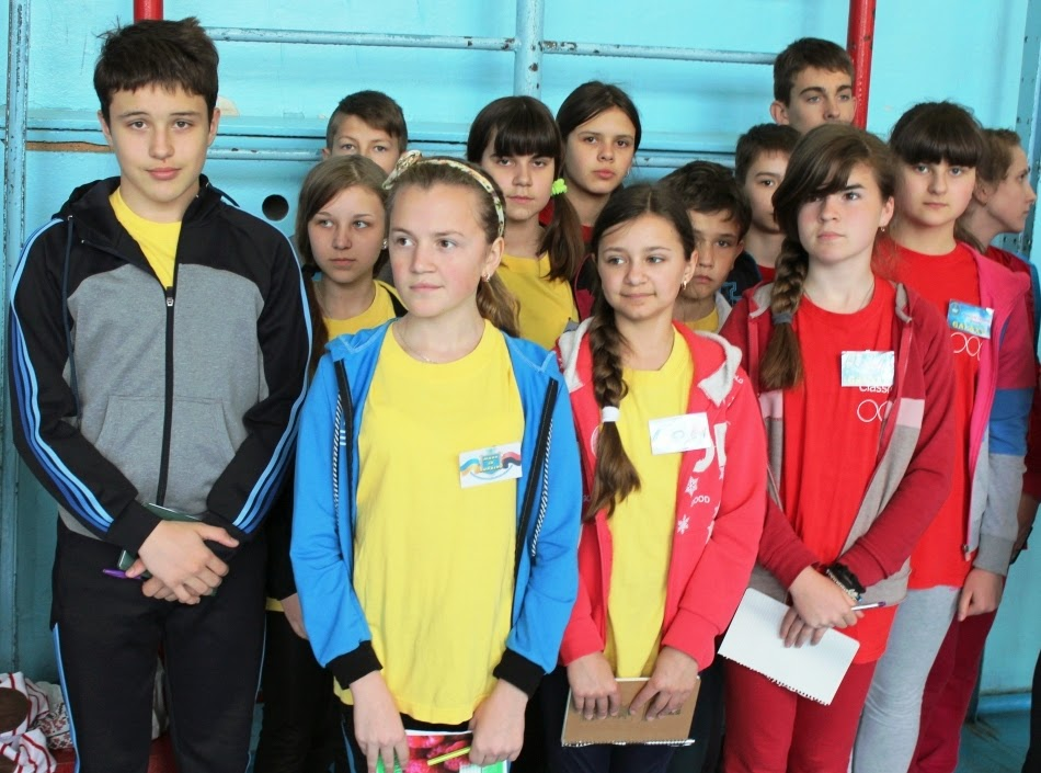 "КОМАНДИ ""ГЕЛАКСІ"" та ""MADE IN UKRAINE"" з Заліщицької гімназії"