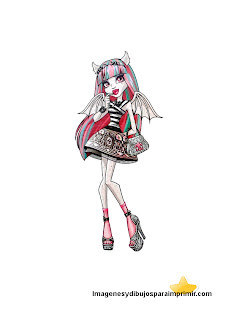 Monster high to print
