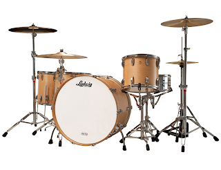 Ludwig Drum Set - Legacy Exotic Natural Maple