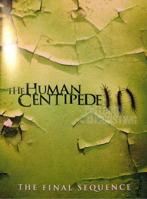 Teaser póster de 'The Human Centipede 3'