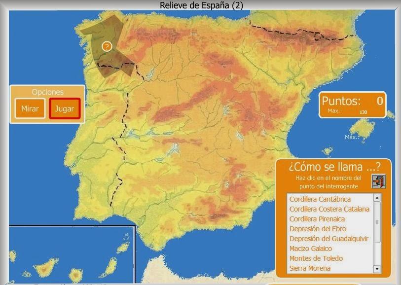 Relieve de España 2