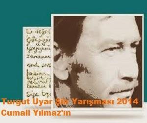 Turgut Uyar Şiir Yarışması 2014 Cumali Yılmaz'ın