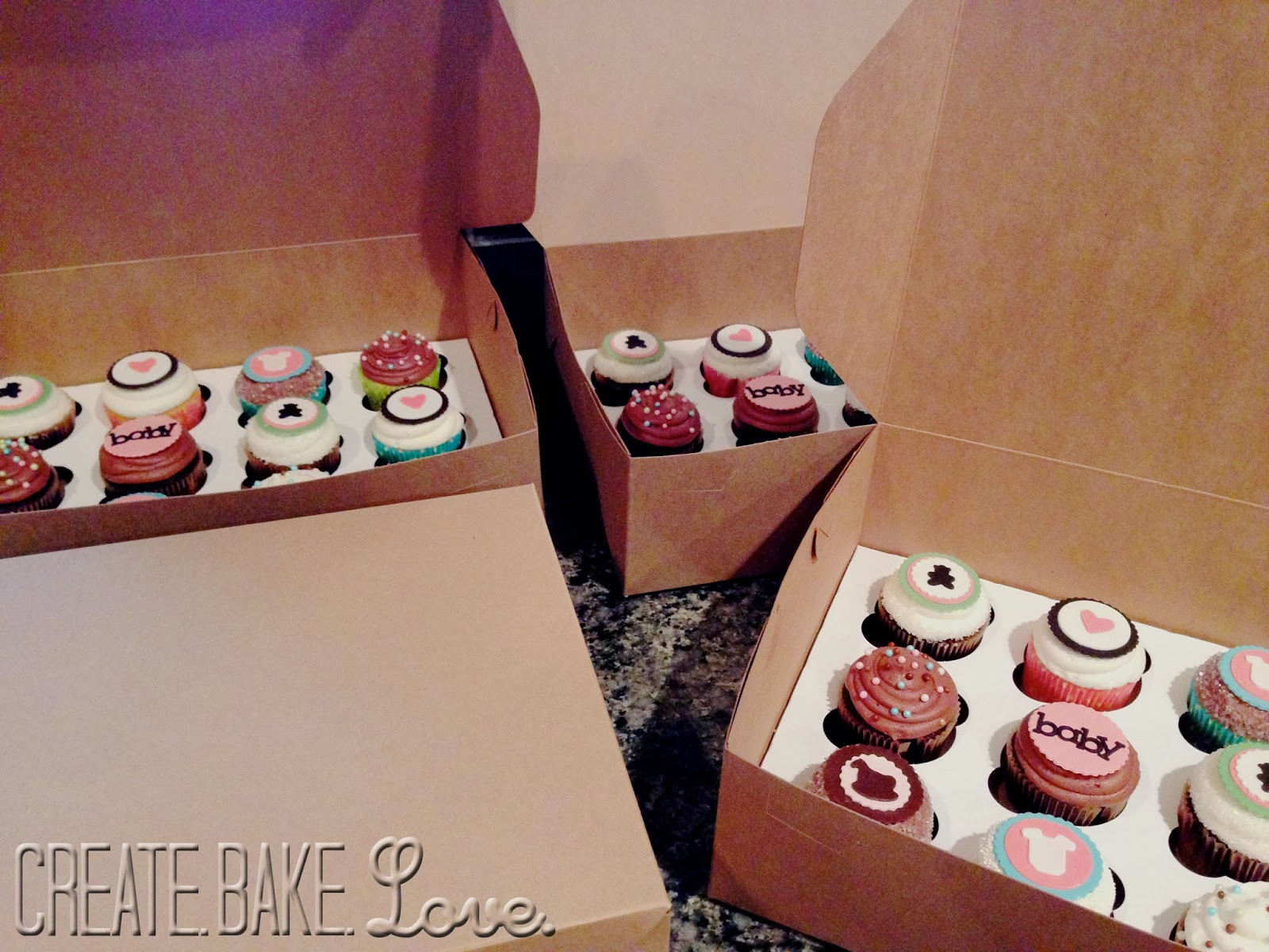 Create Bake Love fice Baby Shower