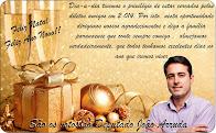Deputado Federal João Arruda deseja a todos um Feliz Natal e um próspero ano novo