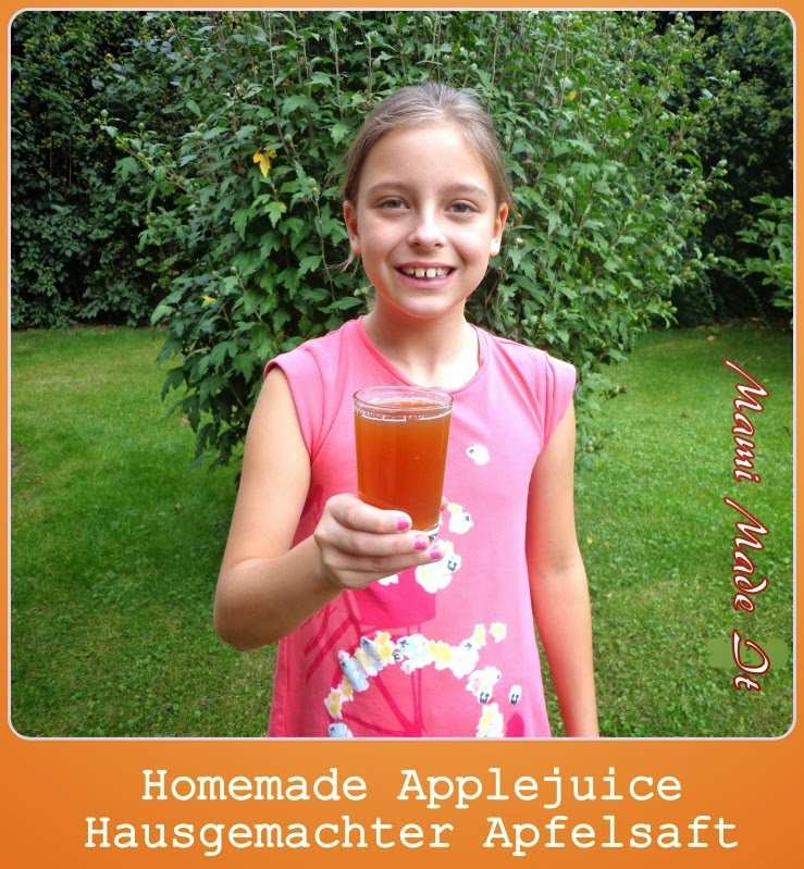 Homemade Apple Juice - Hausgemachter Apfelsaft