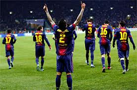 FC Barcelona - Real Zaragoza (Futbol Español 2013)