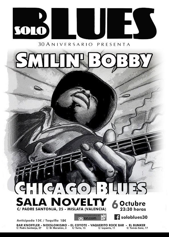 SMILIN' BOBBY Chicago Blues