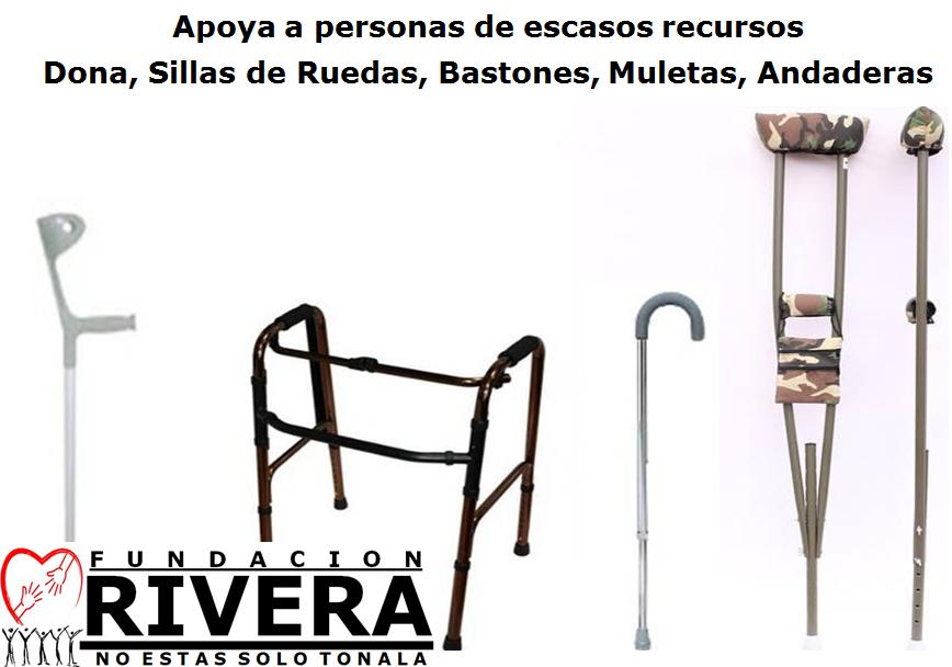 Dona, Sillas de Ruedas, Andaderas, Bastones, Muletas