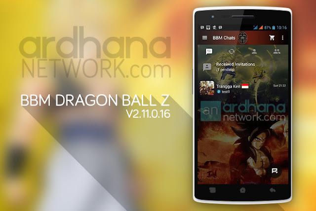 BBM Dragon Ball Z - BBM Android V2.11.0.16