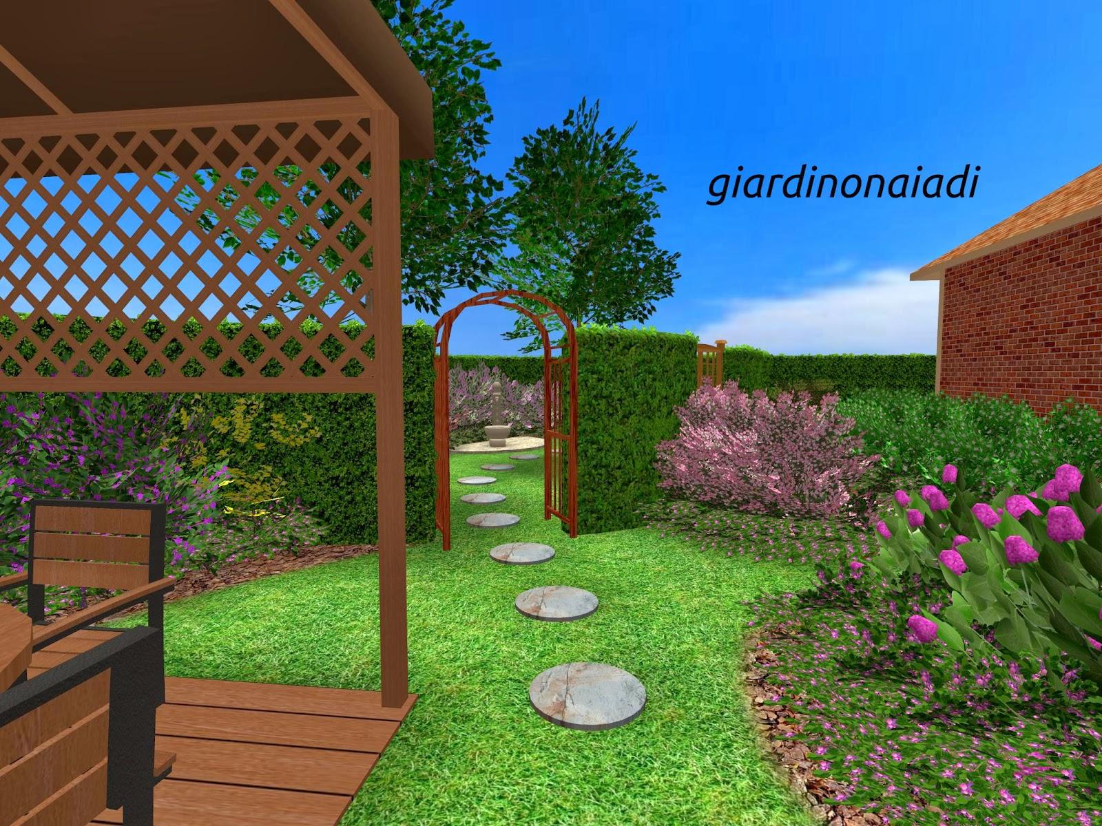 Il giardino delle naiadi il giardino segreto - Progetto per giardino ...