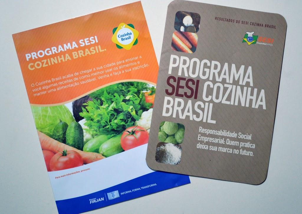 Secretaria de Educação de Teresópolis faz convênio com SESI Cozinha Brasil