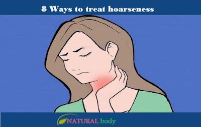 8 Ways to treat hoarseness