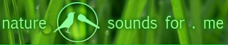 Nature sounds for me - logo