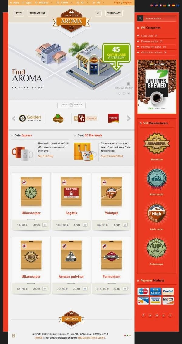 BT Aroma - Bowtheme Joomla Templates Premium