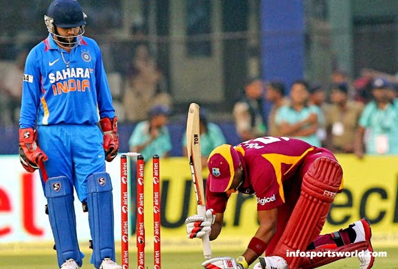 India vs West Indies Tour 2014 Match Fixtures