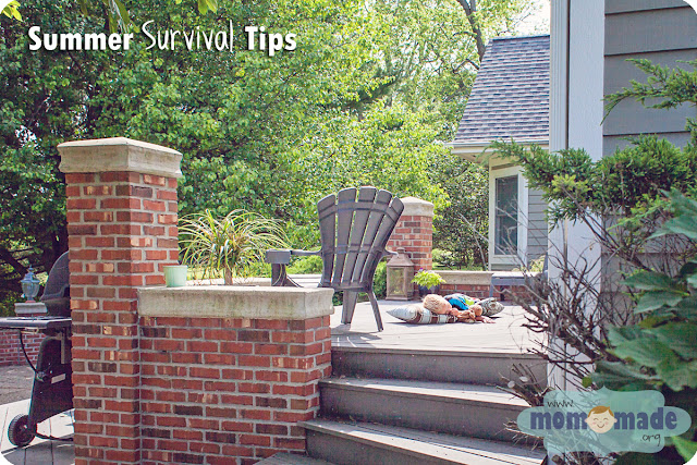 Summer Survival Tips for Parents by Mom-Made