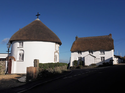 Roundhouses at Veryan, Cornwall