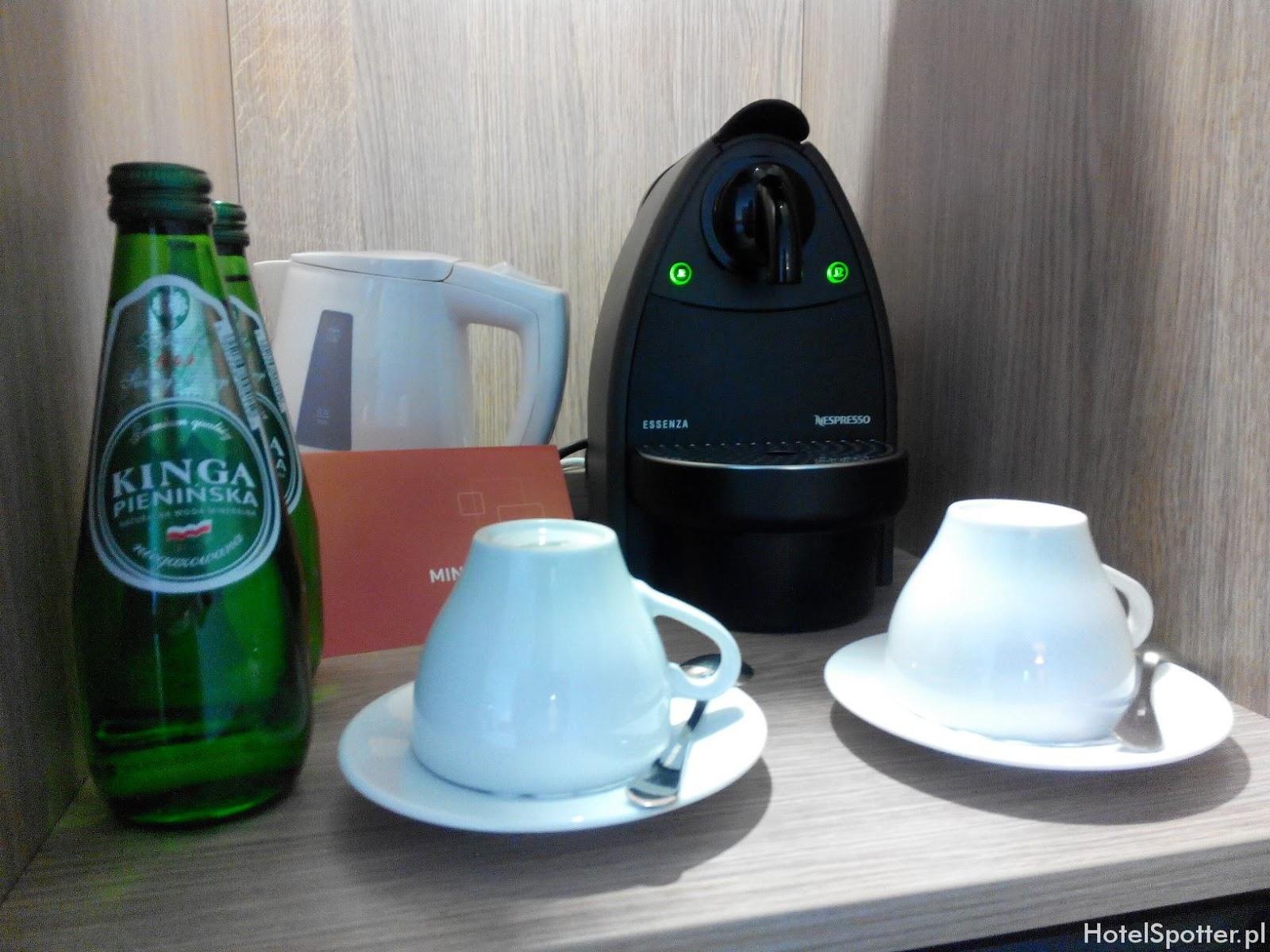 Novotel Krakow Centrum - ekspres do kawy Nespresso