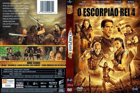 Baixar O Escorpião Rei 4 DVD-R AUTORADO ESCORPIAO 2BREI 2B4
