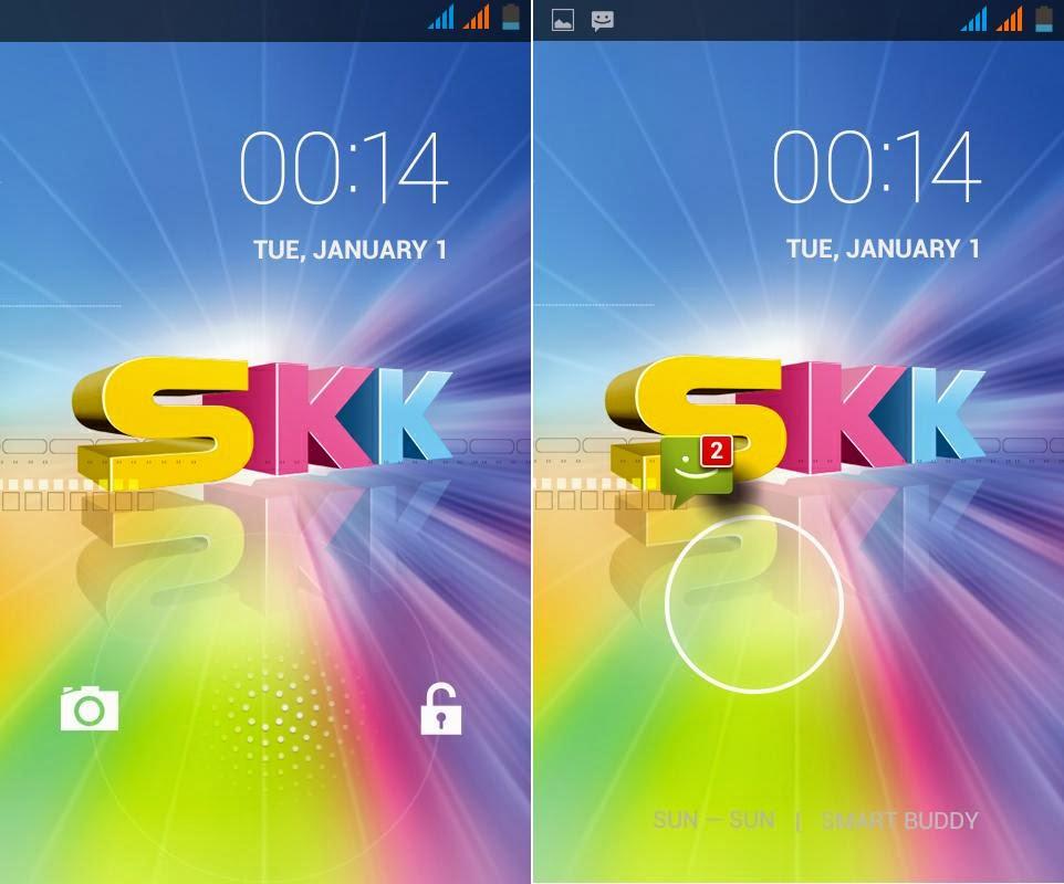 SKK Mobile Glimpse Lockscreen