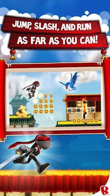 تحميل لعبة النينجا والقفز فوق أسطح المنازل للأيفون والايباد والايبود مجانية NinJump Rooftops iOS-IPA-1-1-0