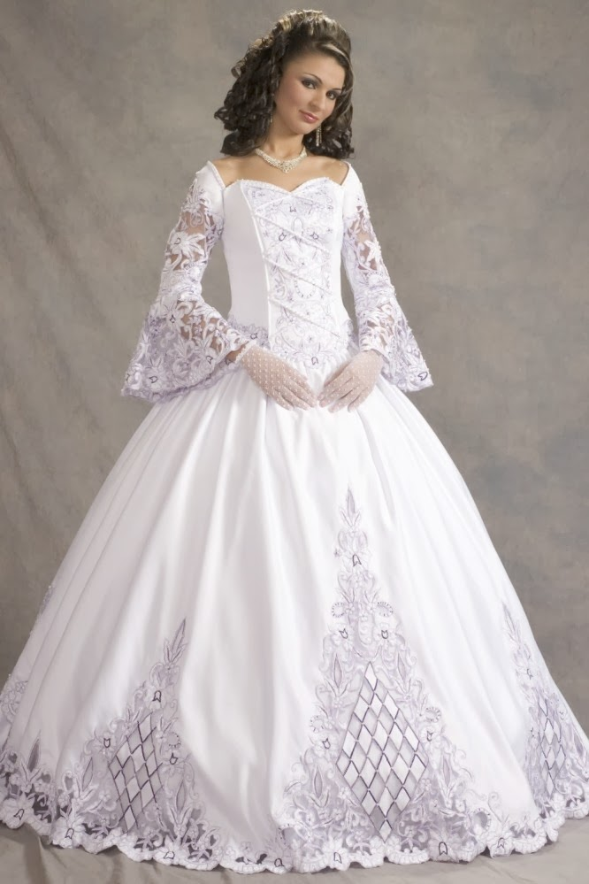 Wysepka: Fashion and Styles: The Wedding Dress For The Old People