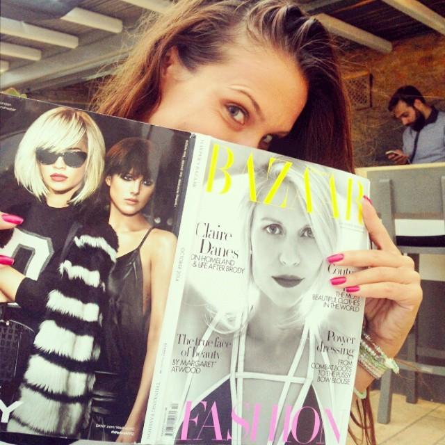 Harper's Bazaar UK Octobre 2014