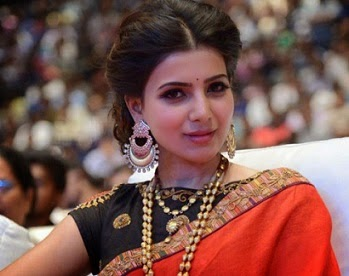 Samantha at S/o Satyamurthy Music Launch