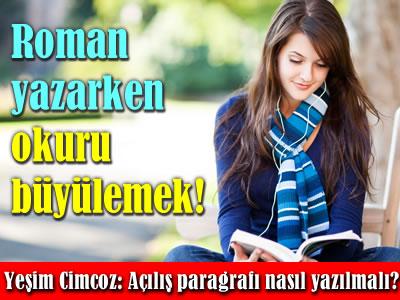Yeşim Cimcoz roman yazma teknikleri - açılış sayfası