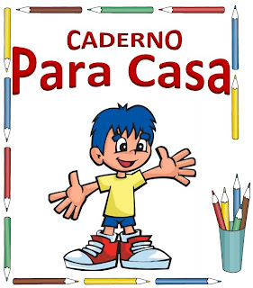 capa para caderno de casa menino