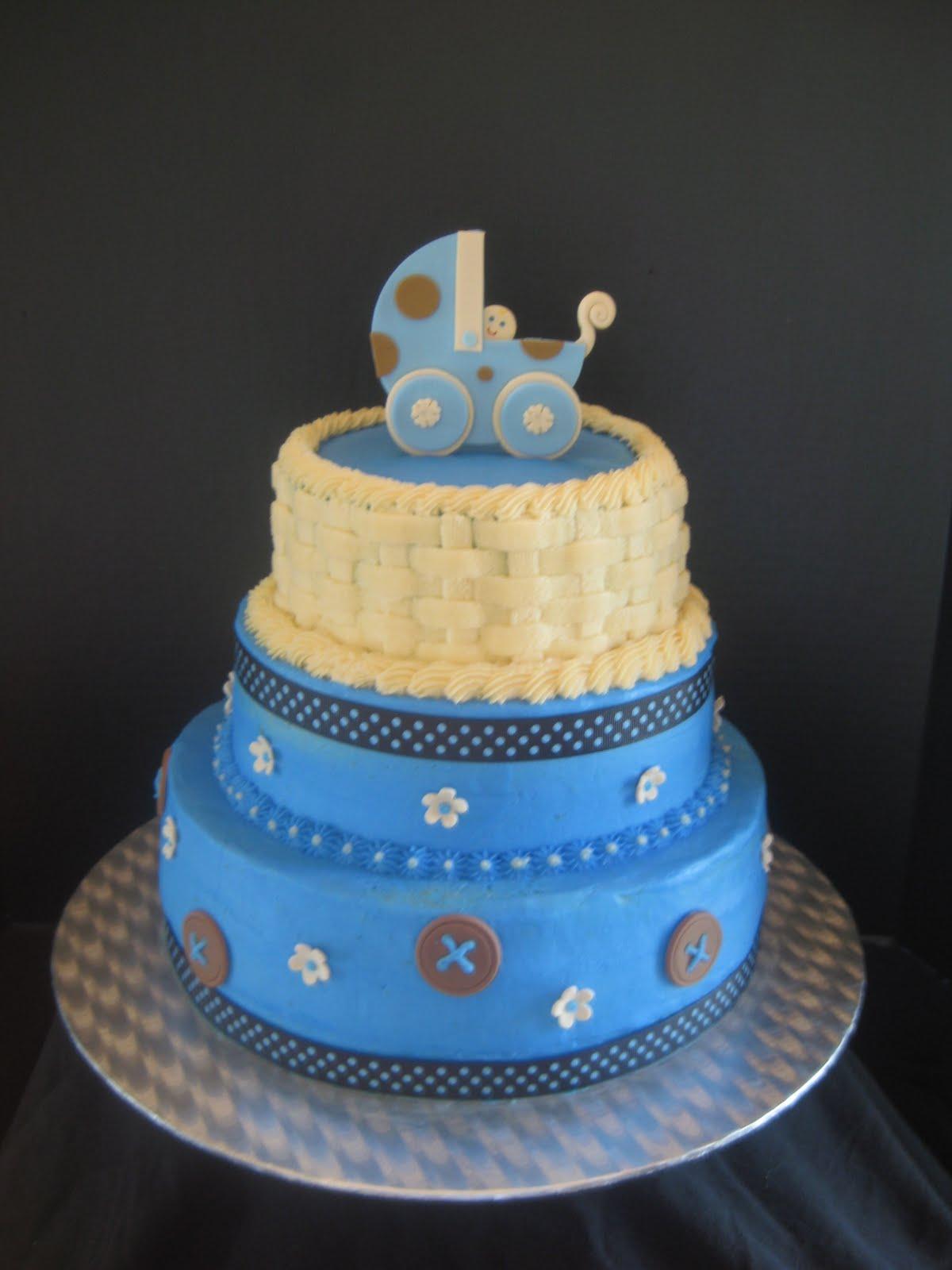 Ashlynn Leigh Cakes Baby Shower Cake