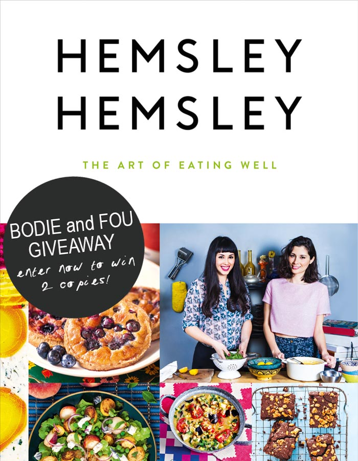 Win 2 copies of The Art of Eating Well by Hemsley & Hemsley. CLICK HERE TO PARTICIPATE http://blog.bodieandfou.com/