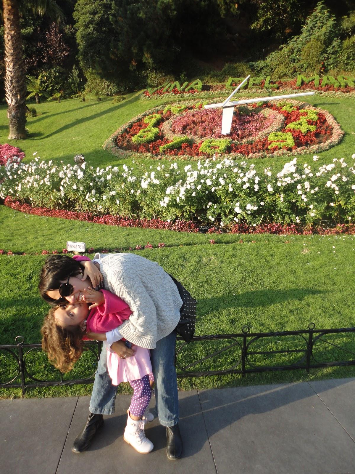 flores cidade jardim:também é visitar o relógio das flores , cartão postal da cidade