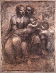 """Sant'Anna, la Vergine, il Bambino e San Giovannino"""""""