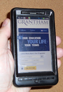 Try Grantham University's New Mobile Website