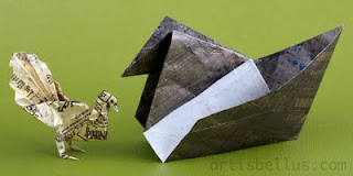 More Sweet Origami - Candy Wrapper