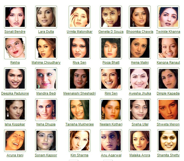 Indian Bollywood actress