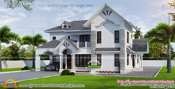 Beautiful European style modern house