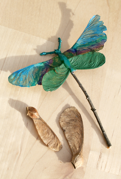 mapleseed+dragonfly - Twig Dragonfly Craft