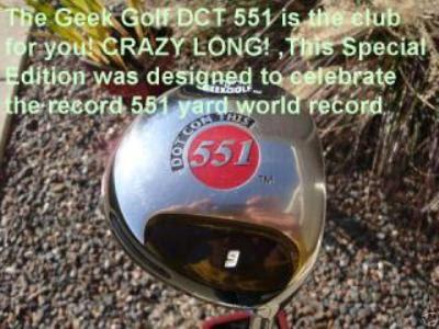 Geek Golf DCT 551 Longest driver