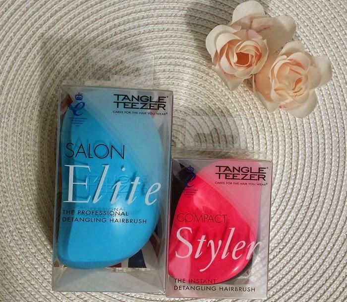 Tangle Teezer Salon Elite vs Tangle Teezer Compact Styler