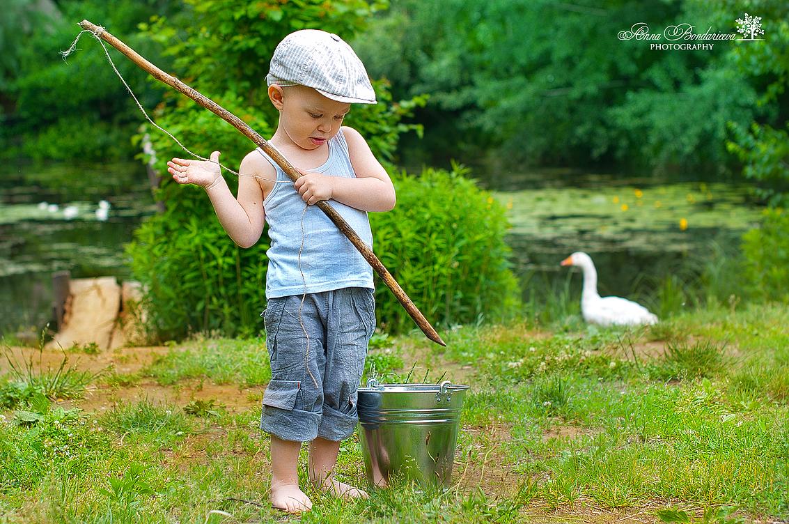 рыбалка семейная
