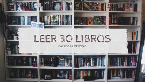 Reto: 30 libros