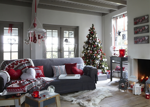 Woonkamer Versieren Voor Kerst: Als kerst windlicht met hartje ...