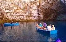 Το Λιμνοσπήλαιο Μελισσάνης στην Κεφαλονιά !!! (Video)