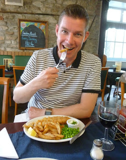 Tasty gluten free Fish & Chips at The Galley in Plymouth