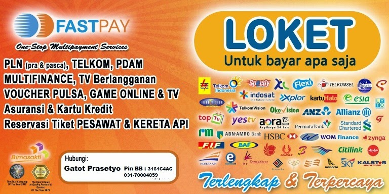 FASTPAY hub: Gatot 0817326408 BB:3161C4AC
