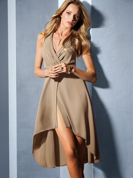 Wrap Halter Dress