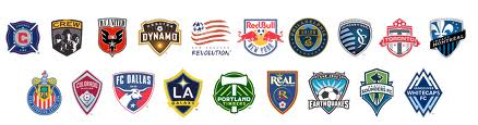 "I ""Crest"" dei team della MLS"