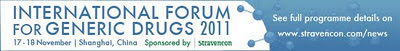International Forum for Generic Drugs 2011 in Shanghai